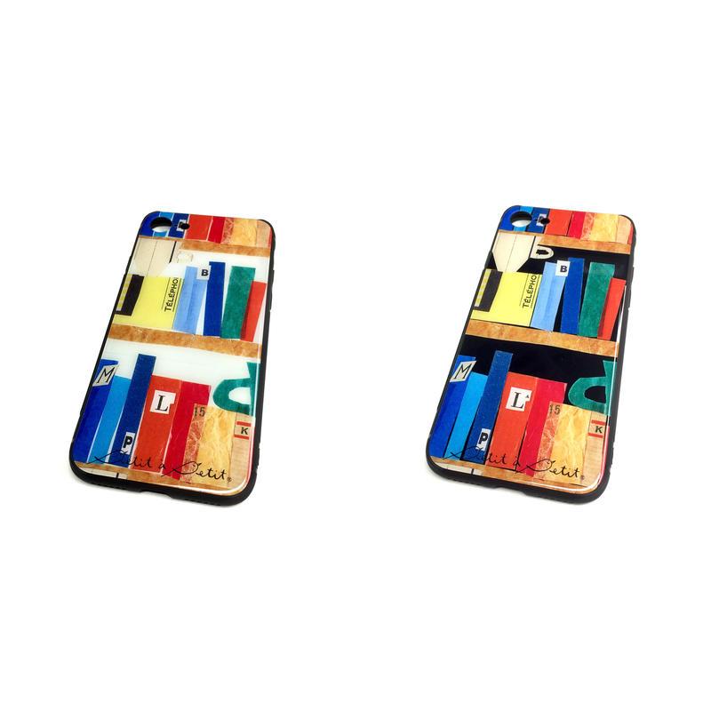 ★10日でお届け【本】(リーブル)【全2色】iphone XS/X/7/8 背面ガラスケース