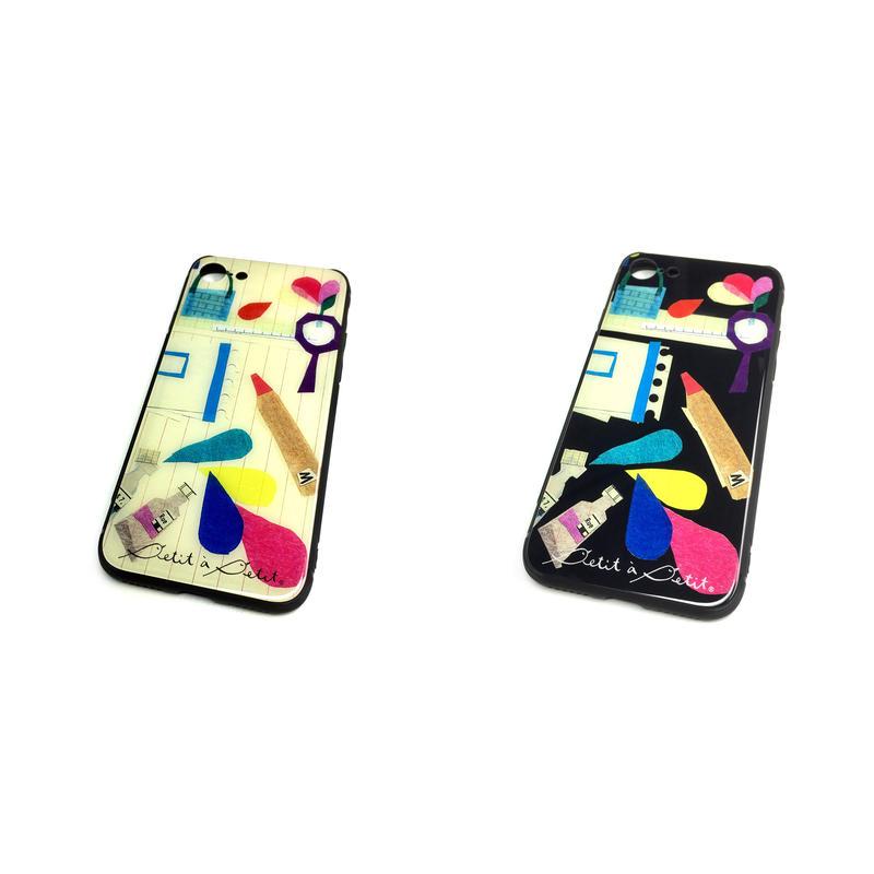 iphoneXR/XSMax背面ガラスケース★10日でお届け【文房具】(パプトリー)【全2色】