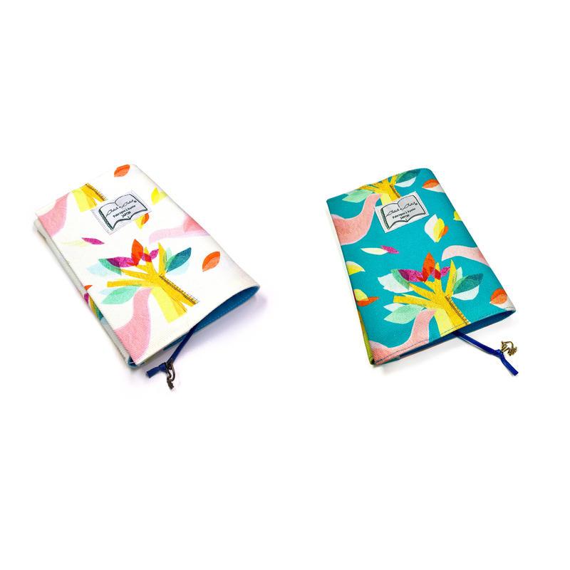 文庫ブックカバー(ロワゾ)【鳥】(全2色)