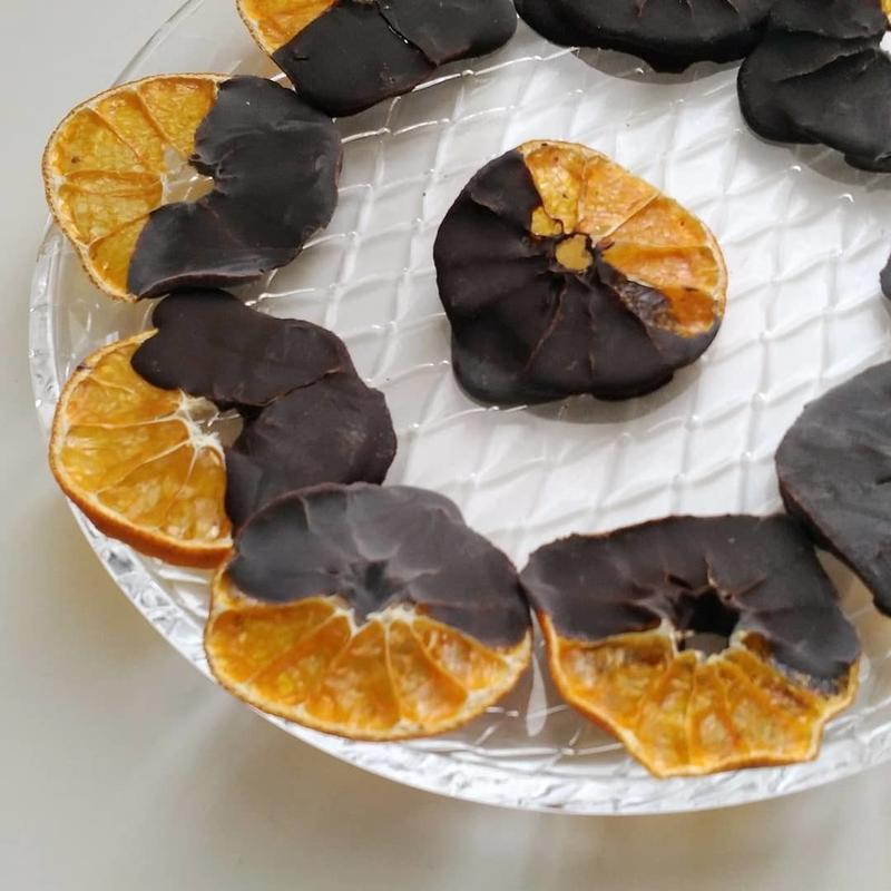 Raw蜜柑チョコレート 10枚