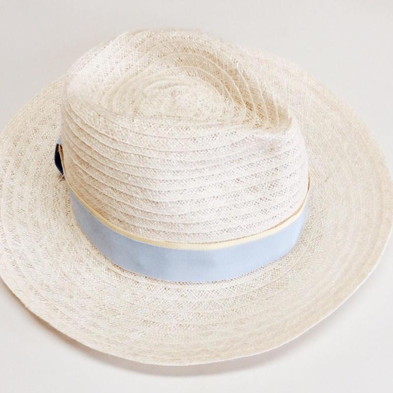 spring linen hat