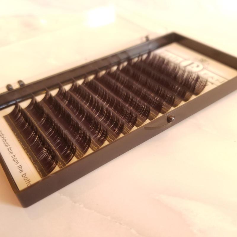 シングルボリュームラッシュDカール0.06 7mm~15mm