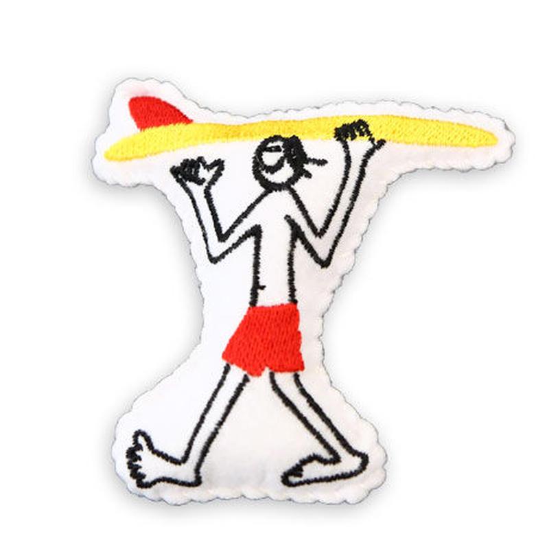 84357 PGクッションバッチ SURF BOY