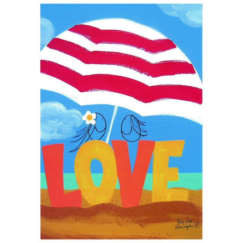 84366 PG ポストカード Love Parasol