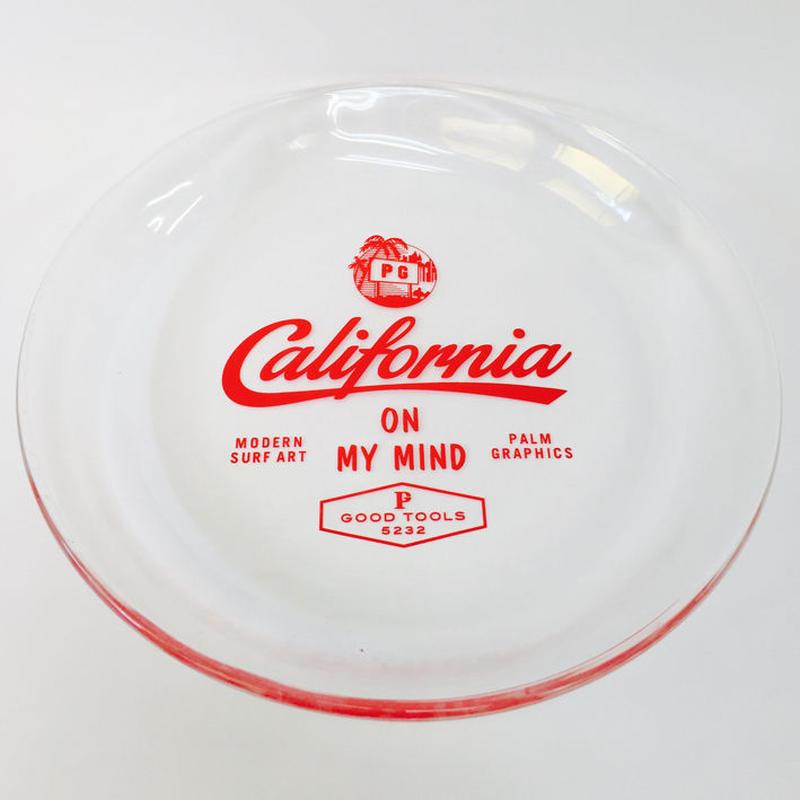 84632 PG グラスプレート L CALIFORNIA