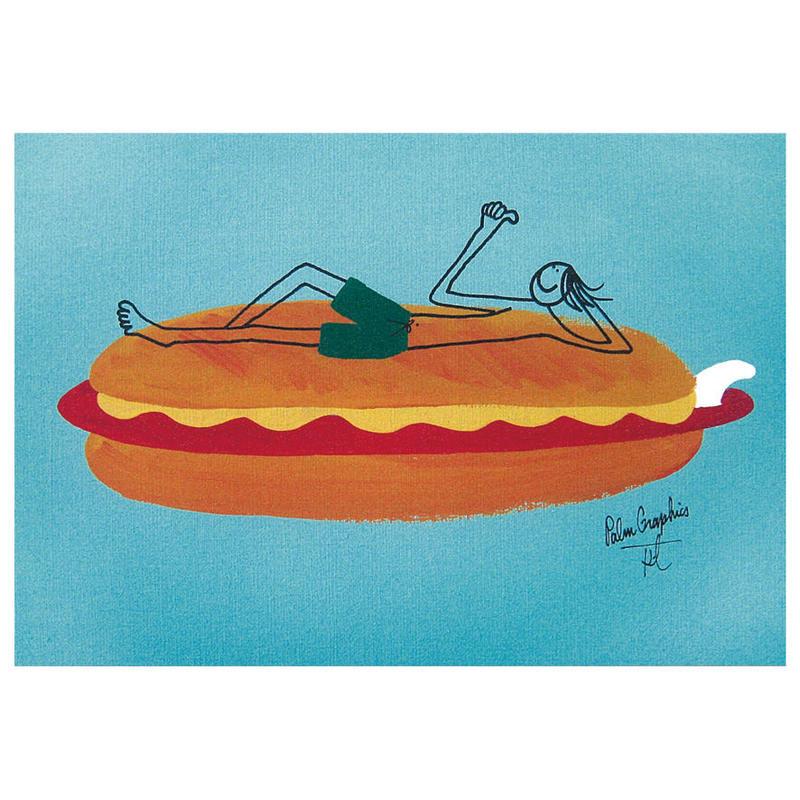 84374 PG ポストカード Hot Dog