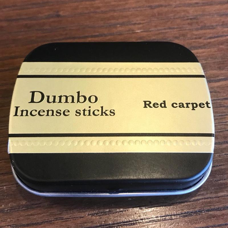 Dumbo Incense sticks「Red carpet」 mini size