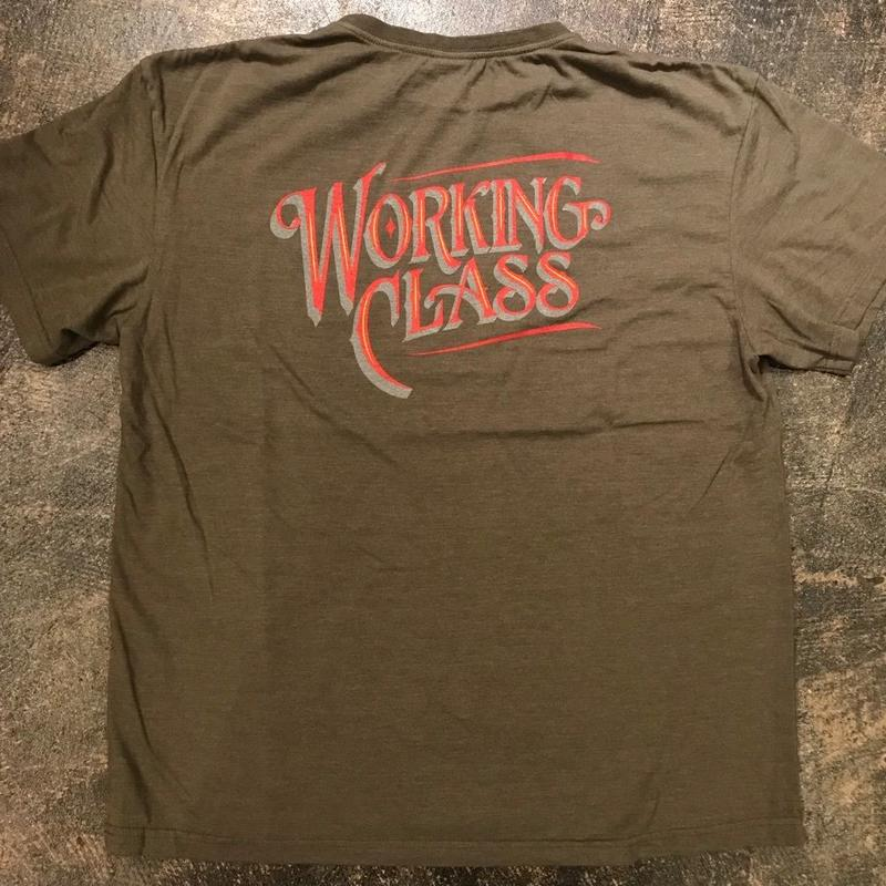 "「THE UNION」""WORKING CLASS"" T-SHIRTS - color / OLIVE"