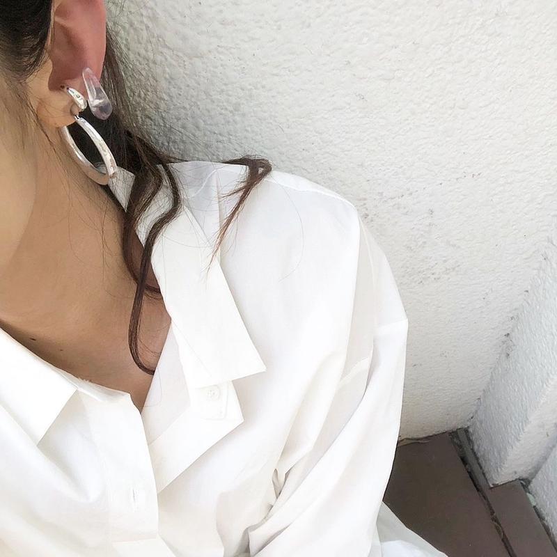 clear  earcuff