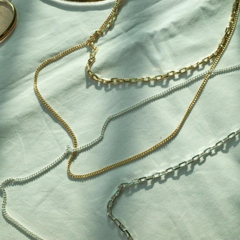 2way C necklace