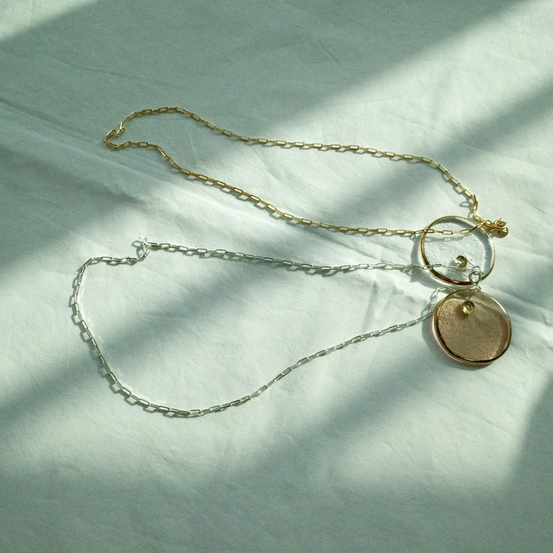 simple out necklace