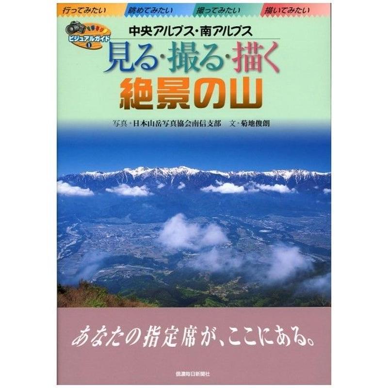 中ア・南アルプス「見る・撮る・描く 絶景の山」