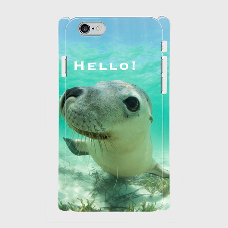 "iPhone5/5s/SE,6/6sケース ""Hello!"""