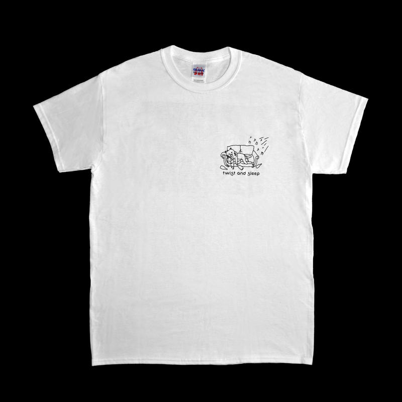 twist and sleep (for the town) tee