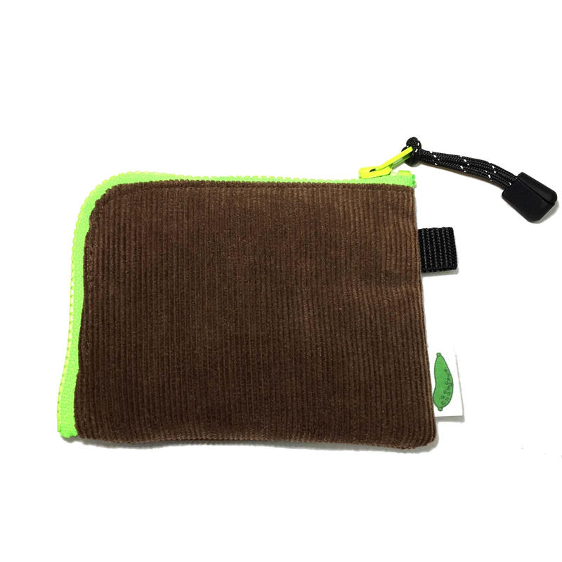 P-POUCH TYPE-2 S  CORDUROY BROWN