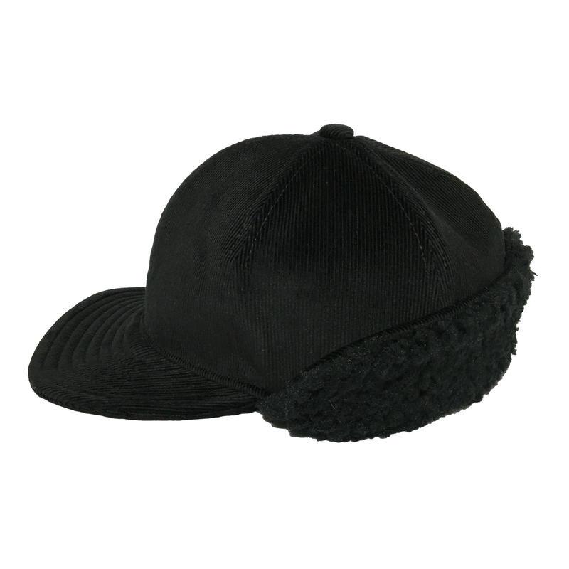 BOA CAP CORDUROY BLACK×BLACK