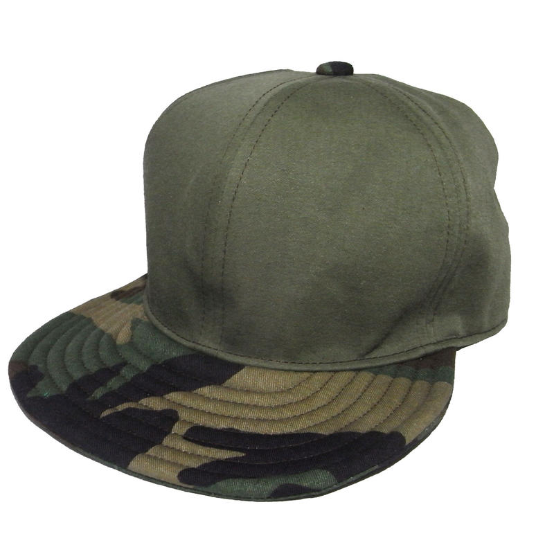 SNAP BACK CAP ONE OFF USED MILITARY