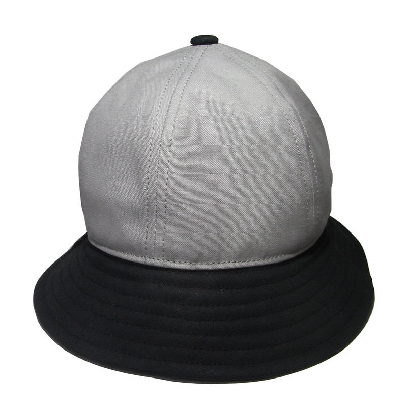 6P HAT  GRAY×BLACK