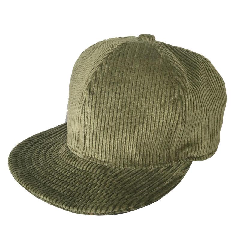 SNAP BACK CAP FAT CORDS GREEN