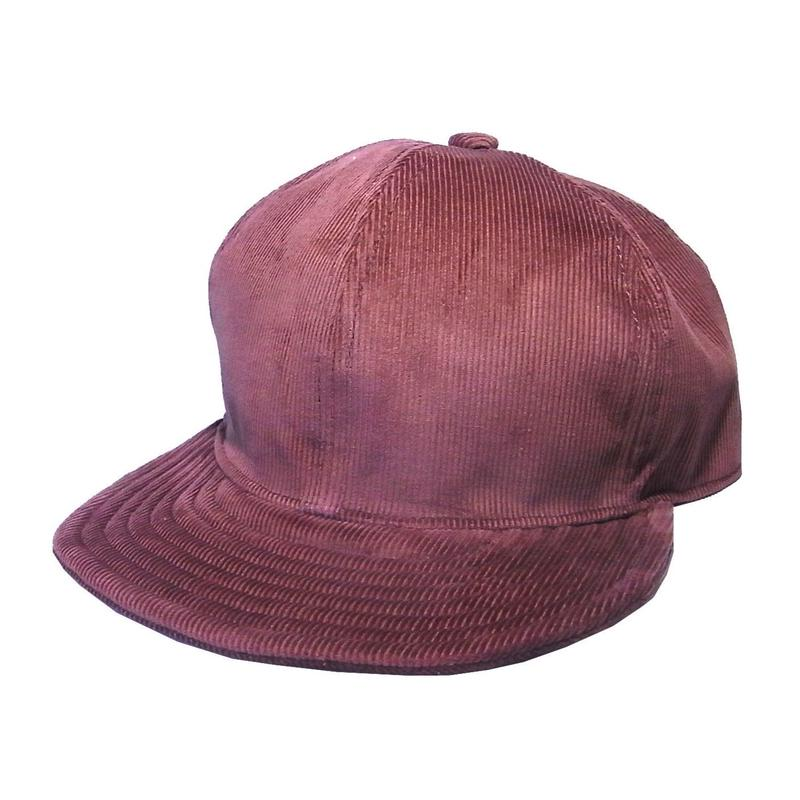 【在庫あり】SNAP BACK CAP CORDUROY BROWN (SIZE M)