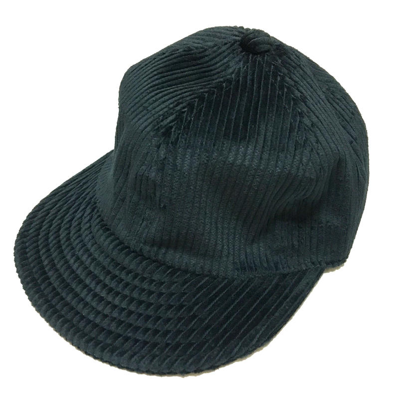 【在庫あり】LOW STRAP CAP FAT CORDUROY BLACK  Size M