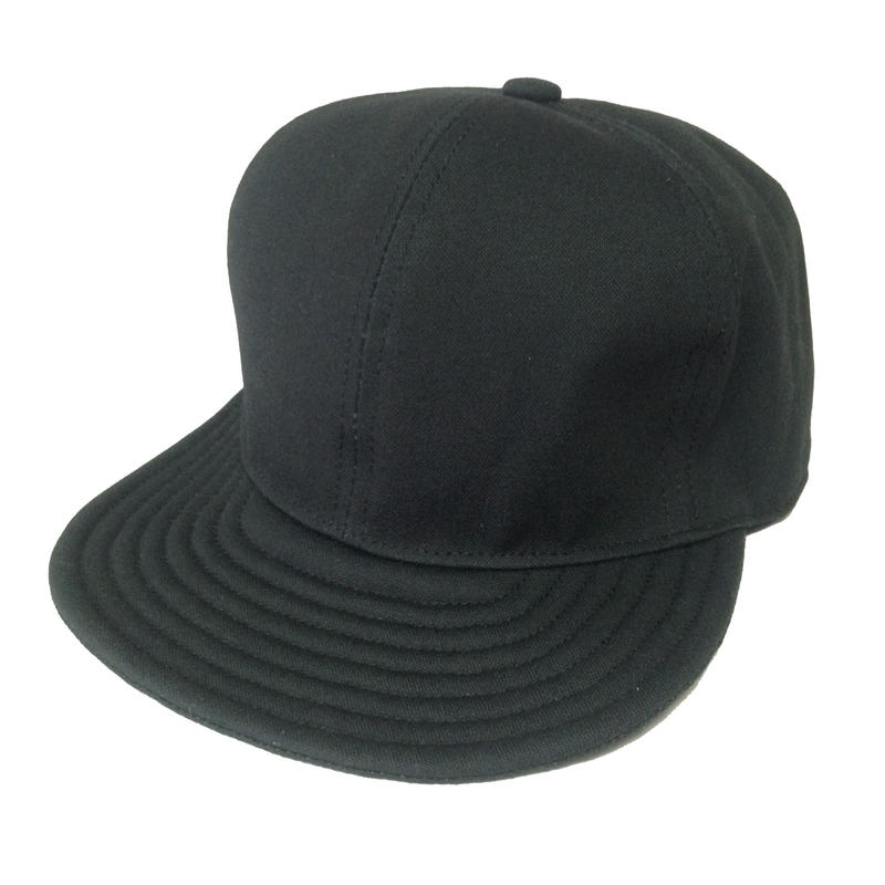 【在庫あり】SNAP BACK CAP BLACK  (SIZE M)