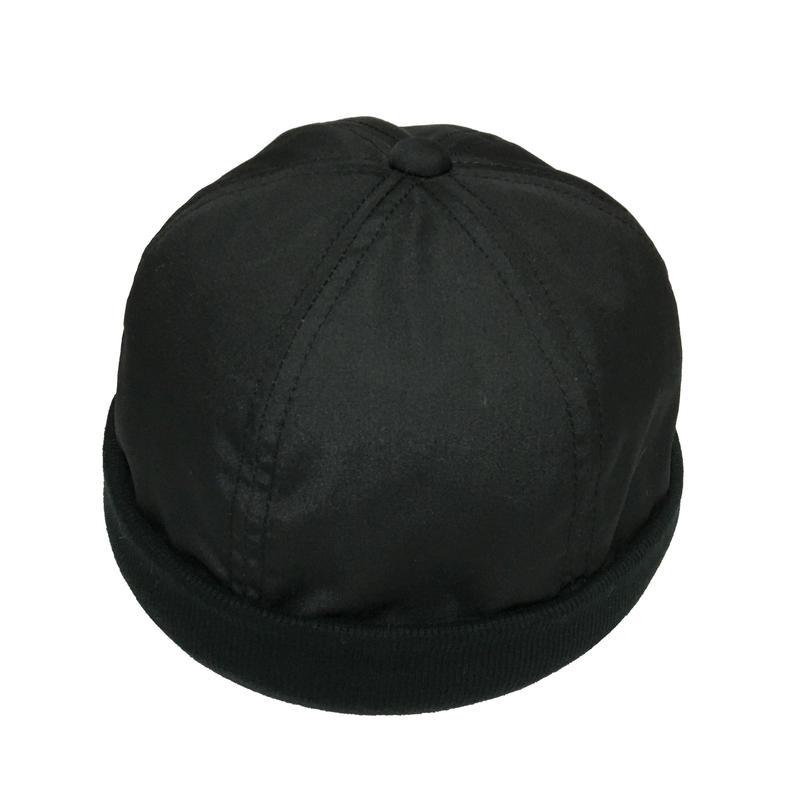 RIB CAP BLACK
