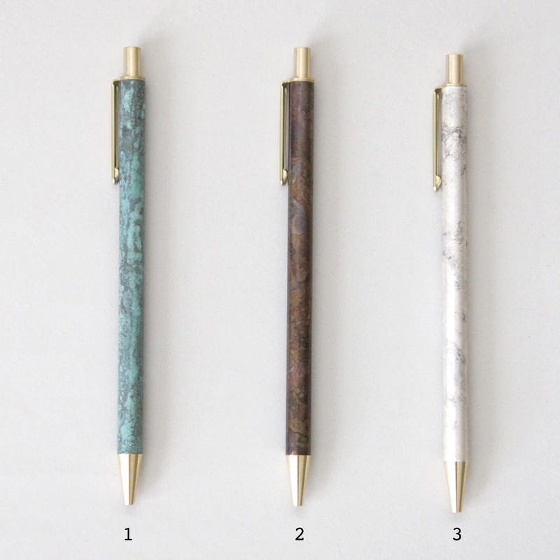 BRASS RETRACTABLE PEN CORROSION +BOX