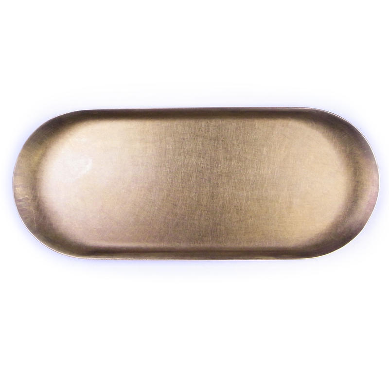 BRASS TRAY RUST