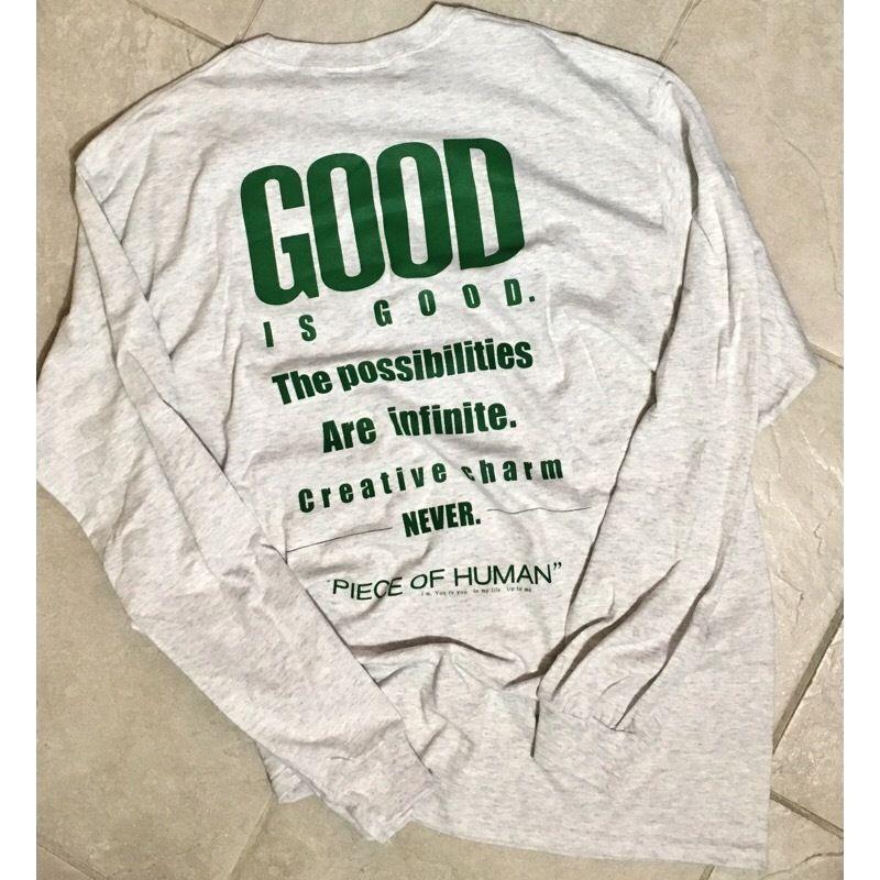 """""""GOOD is GOOD"""" long tee"""