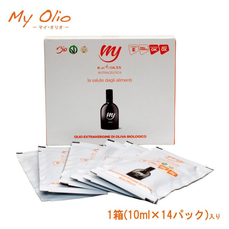 イートネス社 *持ち運べる天然サプリメント・スーパーエクストラバージンオリーブオイル*【My Olio(マイ・オリオ)】1箱(10ml×14袋)