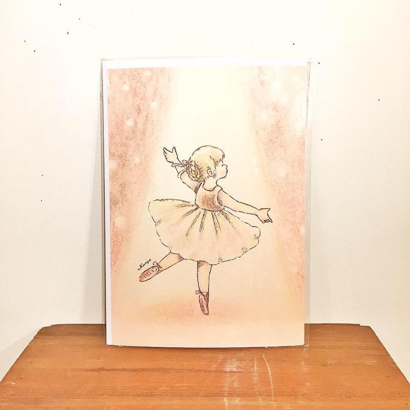 A4ポスター(木漏れ日のダンス)