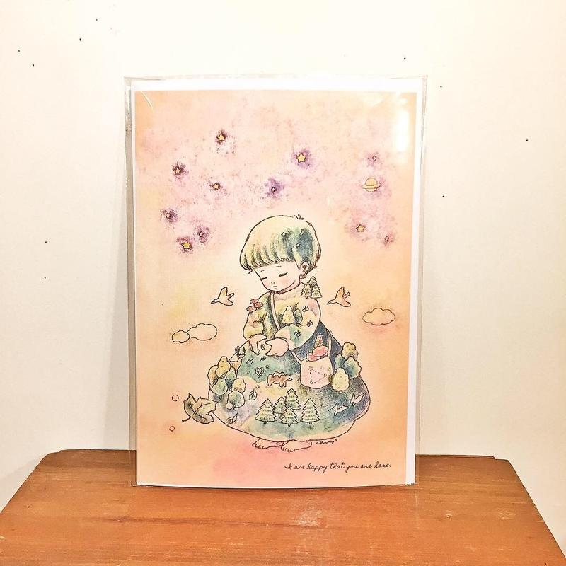 A4ポスター(森のテウトニ)