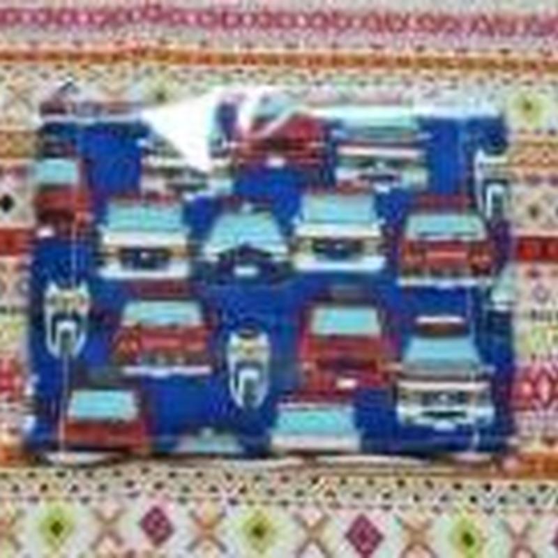 5166 マスク Sサイズ パトカー 青色
