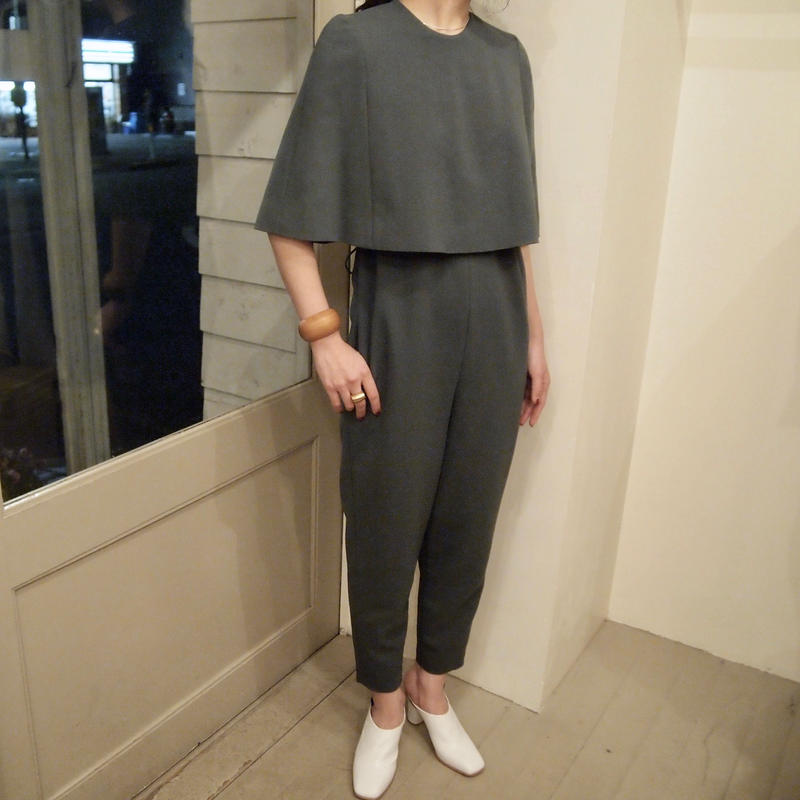 jens / CAPE PANTS DRESS