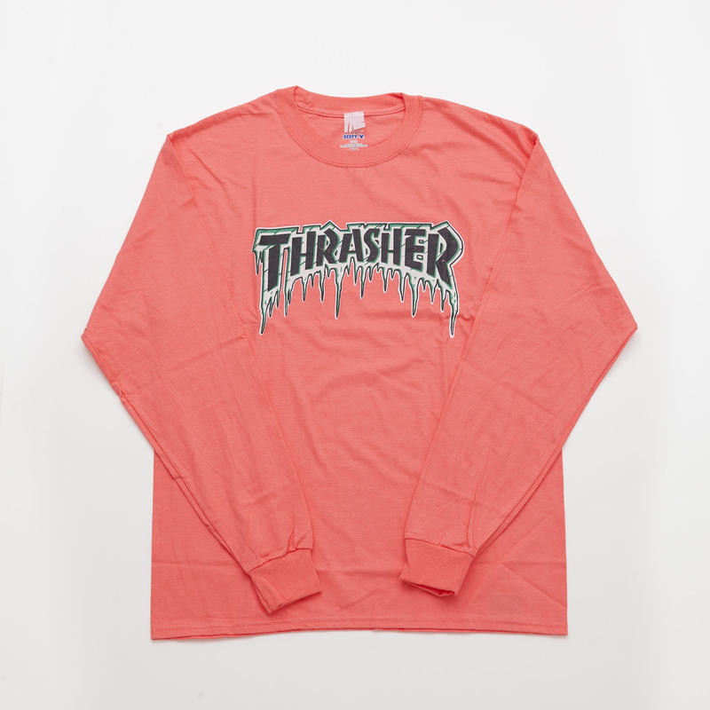 JACKSON MATISSE x THRASHER ICE Long Sleeve Tee