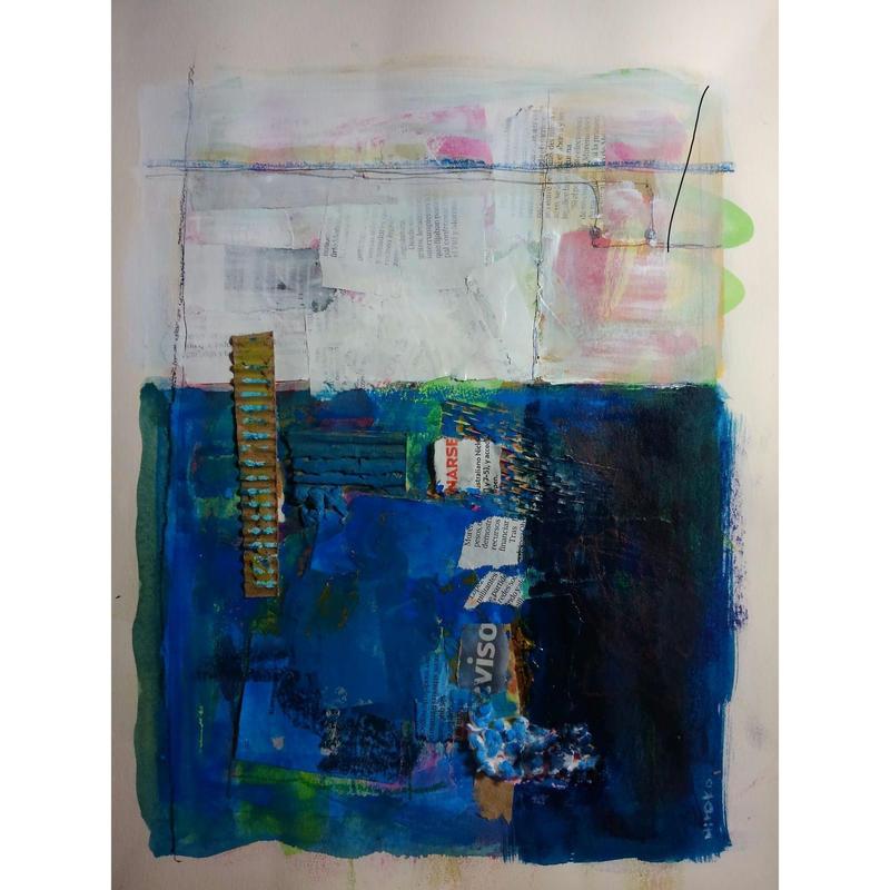メキシコの青い壁  谷垣 博子  2018年
