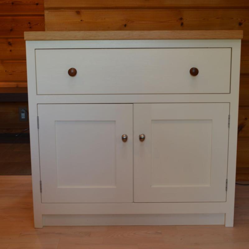 シェーカーキッチン870mm Door/Drawer cabinet