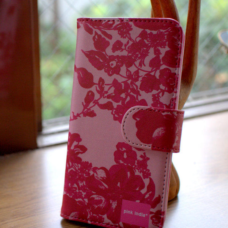 iphone6 plus/6s plus用手帳型ケース Stella pink