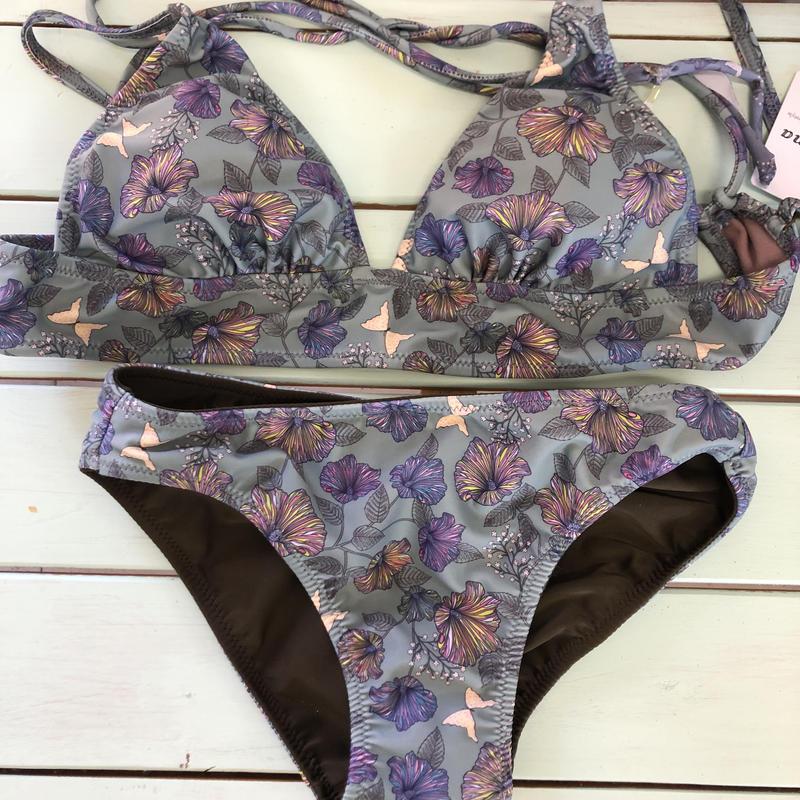 Leona flower print swimwear
