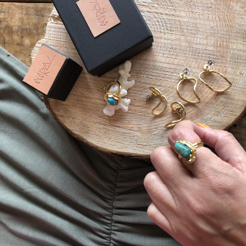 ecoRAL Turquoise ring