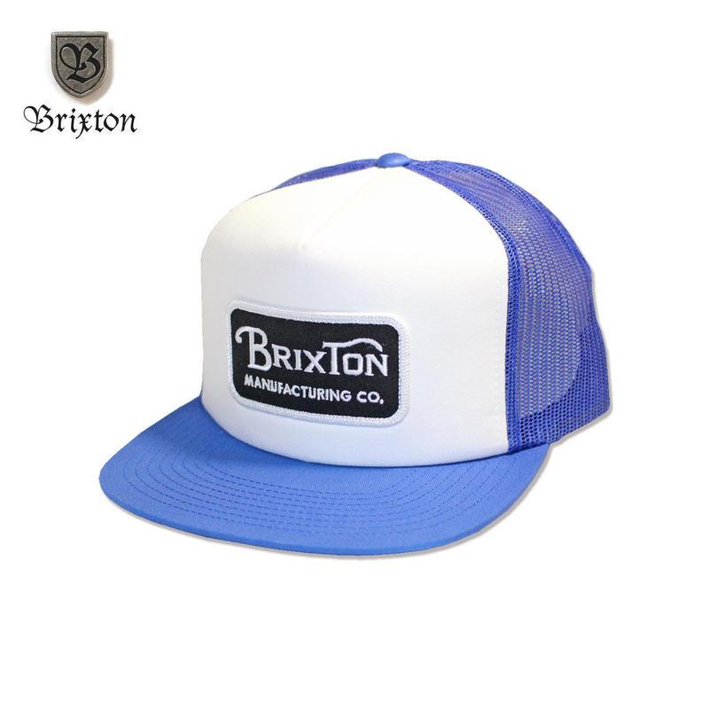 BRIXTON(ブリクストン) GRADE MESH CAP ブルー