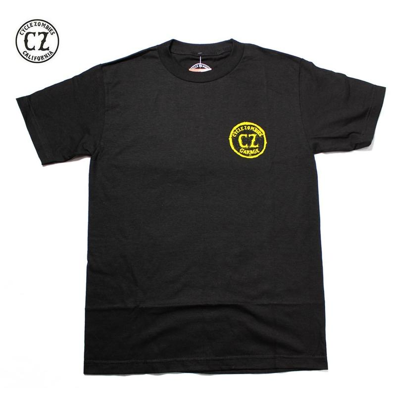 Cycle Zombies(サイクルゾンビーズ)CA3 Standard S/S T-Shirt ブラック