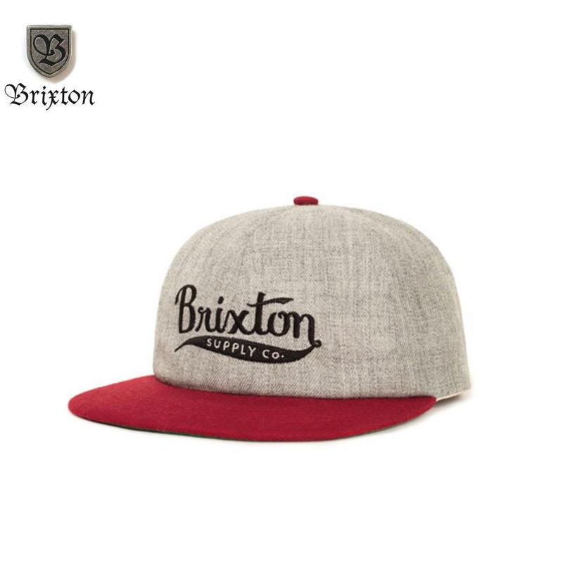 BRIXTON(ブリクストン) GOMEZ CAP グレー