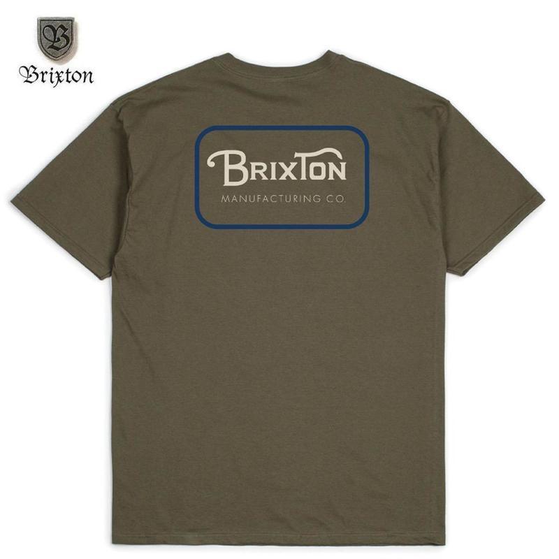 BRIXTON(ブリクストン)GRADE S/S STT オリーブ