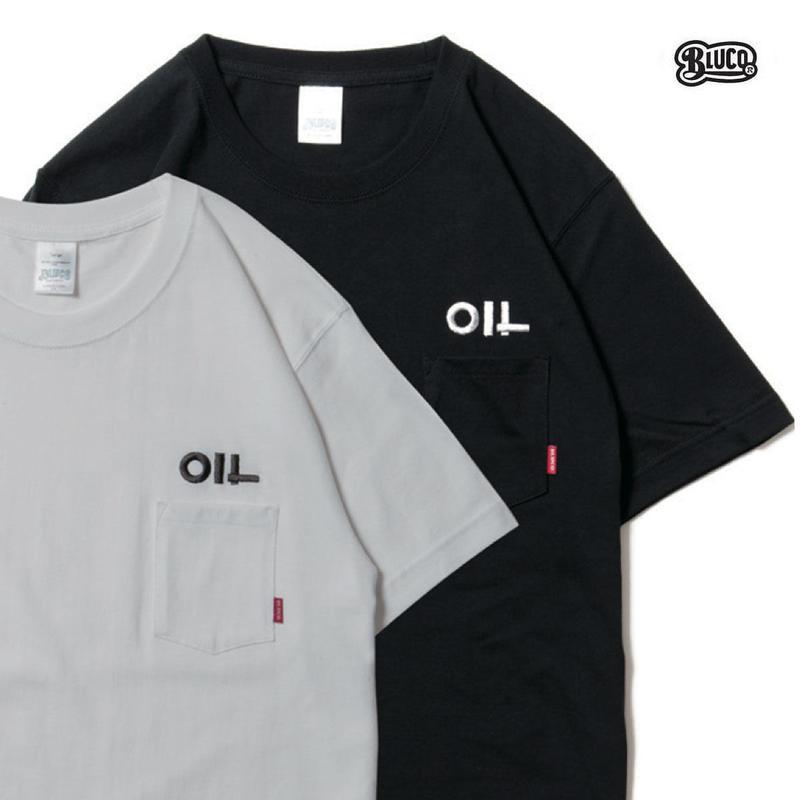 BLUCO(ブルコ)OL-804-018 SUPER HEAVY WEIGHT TEE'S -OIL-全3色(ブラック・ホワイト・アッシュ)