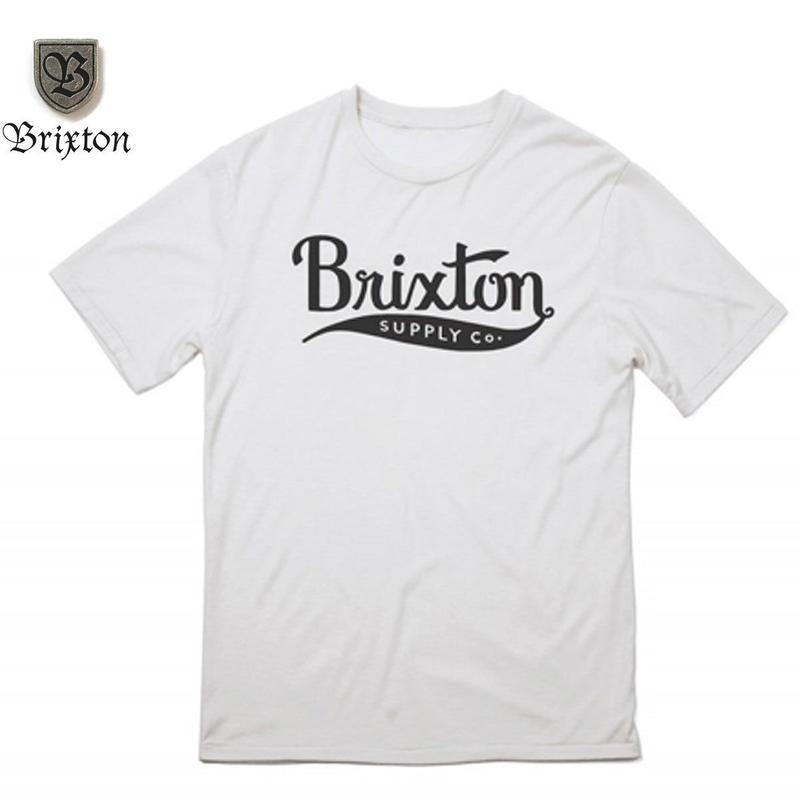 BRIXTON(ブリクストン) GOMEZ S/S TEE ホワイト