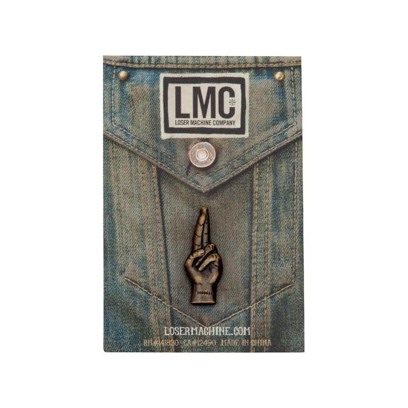 Loser Machine(ルーザーマシーン) LMC GOOD LUCK PIN