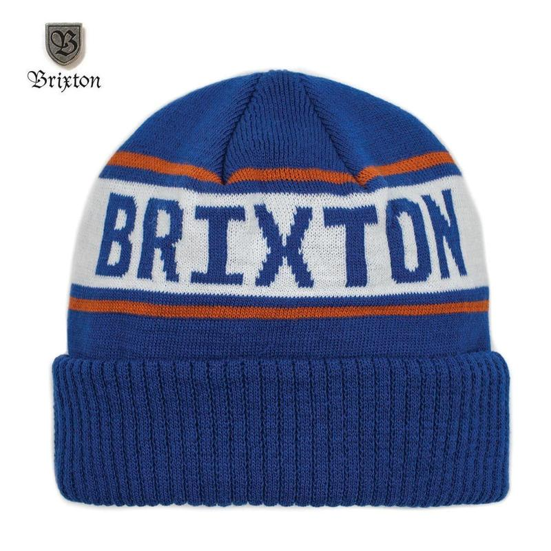 BRIXTON(ブリクストン) CAPITAL BEANIE ロイヤル