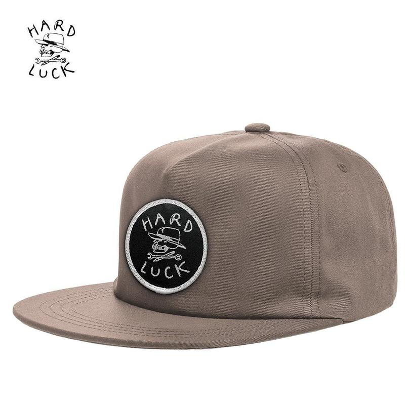 HARD LUCK(ハードラック)OG UNSTRUCTED SNAPBACK CAP カーキ